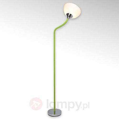 LUCIE - Lampa podłogowa Zielona (4004353149443)