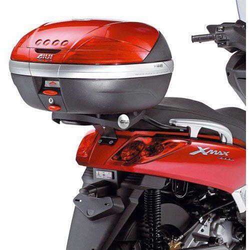 OKAZJA - GIVI GISR355 STELAŻ KUFRA CENTRALNEGO Z PŁYTA MONOKEY YAMAHA X-MAX 125-250 (05 > 09)