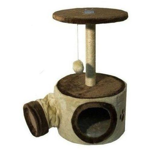 Yarro drapak dla kota nuka z tunelem 60cm