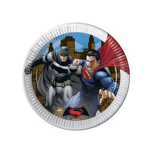 Talerzyki papierowe Batman vs Superman, 23 cm, 8 szt., kup u jednego z partnerów