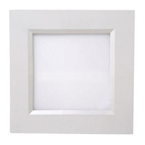 Oczko LAMPA sufitowa HL685L 02126 Ideus podtynkowa OPRAWA metalowa LED 12W kwadratowy wpust biały