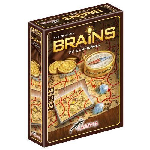 Brains: mapa skarbów - marki Lacerta