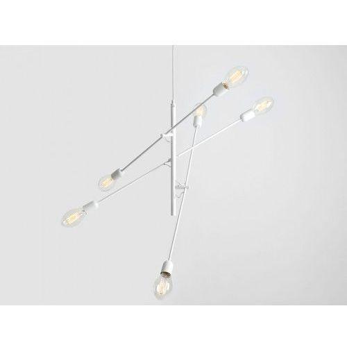 Customform Lampa sufitowa industrialna twigo 6 - kolor biały