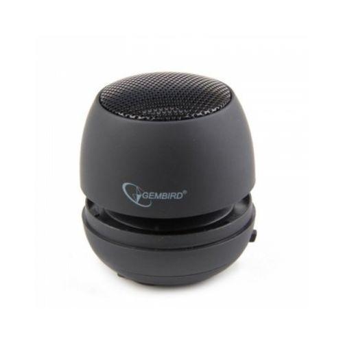 Gembird Głośnik portable z wbudowaną baterią black (8716309077354)