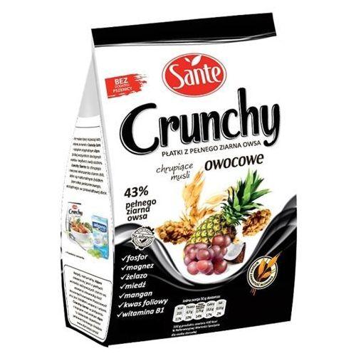 Sante Crunchy owocowe Chrupiące musli 350 g
