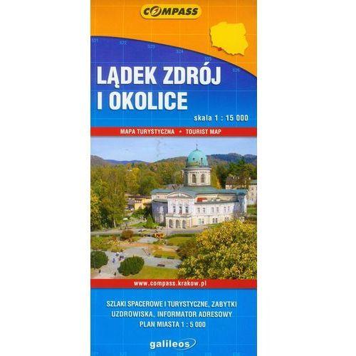 Lądek-Zdrój i okolice - plan miasta, oprawa miękka