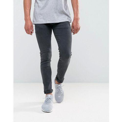 jondrill skinny power stretch jeans washed black - black, Replay