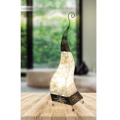 Globo BALI Lampa stołowa Brązowy, Złoty, 1-punktowy - Ponadczasowy - Obszar wewnętrzny - BALI - Czas dostawy: od 6-10 dni roboczych (9007371369164)