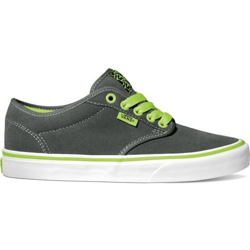 Vans Buty - atwood (neon) charcoal/neon green (8ps)