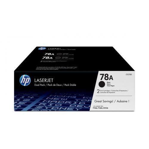 HP Inc. Toner LJ P1566/1606 78A Czarny 2.1k Dwupak CE278AD