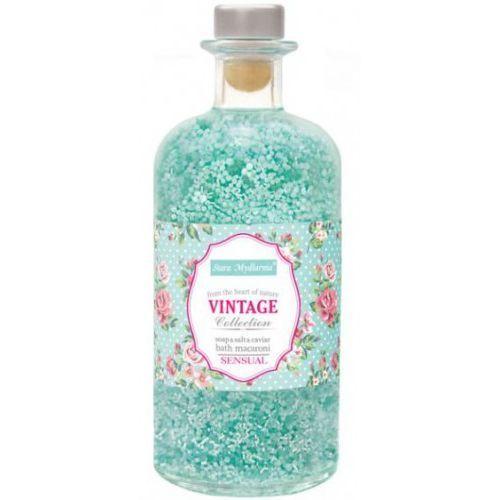 Vintage Collection - macaroni do kąpieli 3w1 sól & kawior & mydło 500 ml, 37703