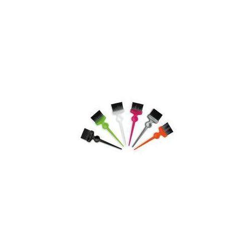 , pędzel do nakładania farby, szerokie, czarne włosie marki Termix
