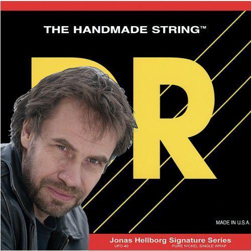 DR Jonas Hellborg Signature Series ″ struny do gitary basowej, 4-Strings, Light,.040-.100