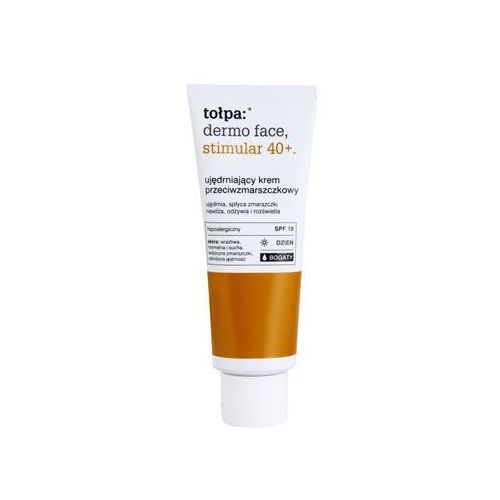 Tołpa Dermo Face Stimular 40+ przeciwzmarszczkowy krem wzmacniający SPF 15 (Rich) 40 ml