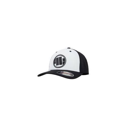 Czapka pit bull full cap classic mesh new logo'19 - biała/czarna (629003.0190) marki Pit bull west coast