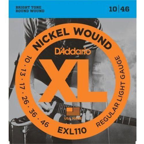 D'Addario struny do gitary elektrycznej EXL110 10-46, 9ECD-3956B