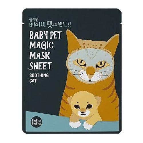 magic baby pet maska odświeżająca i kojąca do twarzy 16 ml marki Holika holika