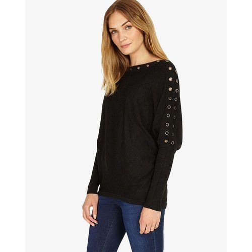 Phase eight  esther eyelet long sleeve batwing