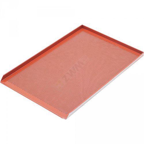 Stalgast blacha wypiekowa aluminiowa perforowanapokryta silikonem 3 ranty 1,5 mm Stalgast