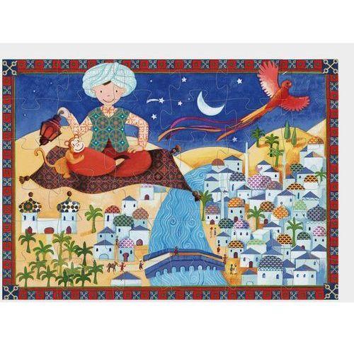 Djeco, Ali baba, DJ07222, puzzle tekturowe, 36 elementów (3070900072220)