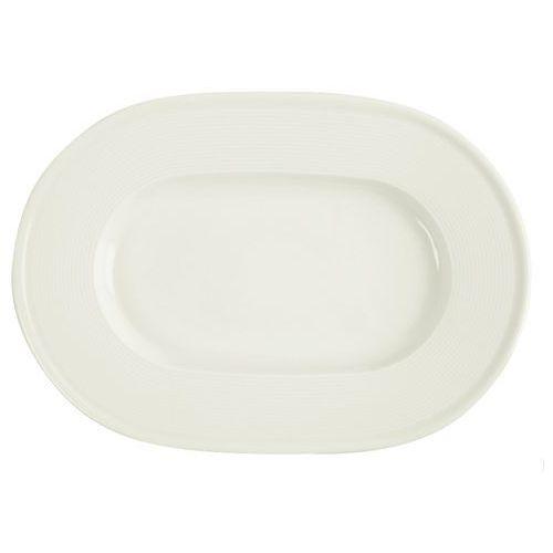 Półmisek porcelanowy owalny śr. 25 cm line marki Porland - porcelana gastronomiczna
