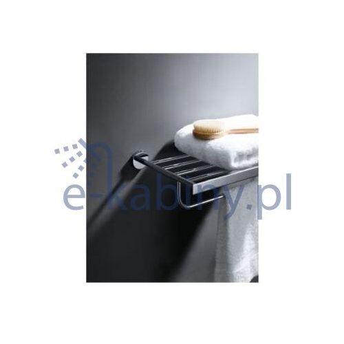 Blue water Półka hug-042 na ręczniki z relingiem