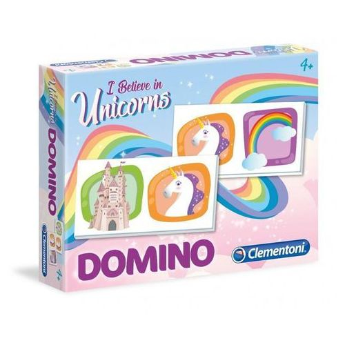 Clementoni Domino jednorożec