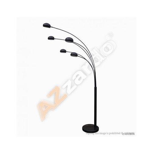 ŻARÓWKI LED GRATIS! Lampa podłogowa Palp TS5805 Shiny Black AZzardo z kategorii Lampy stojące