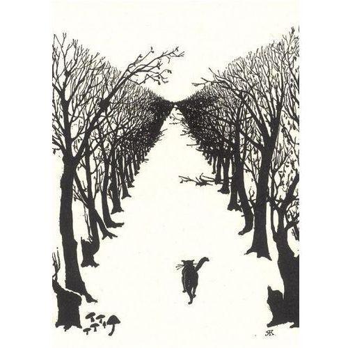 Karnet B6 z kopertą The Cat that walked by himself (5015278134826)