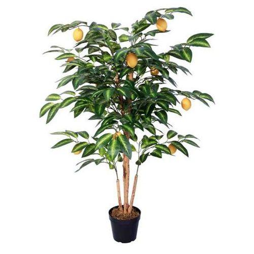 Greentree Sztuczne drzewko cytrynowe 125 cm drzewo cytryna - 125 cm - OKAZJE