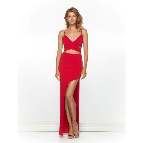 Sukienka vibi w kolorze czerwonym marki Sugarfree.pl