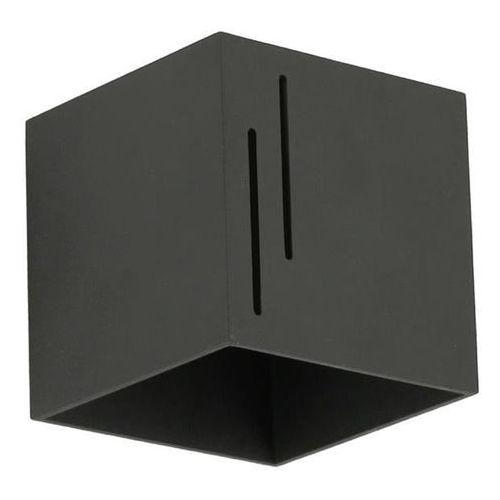 Kinkiet quado modern b czarny - czarny marki Lampex