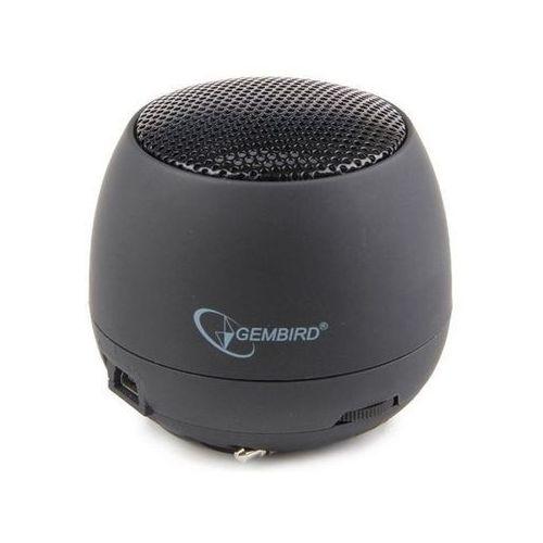 Głośnik przenośny GEMBRID SPK-103 Czarny (8716309077354)