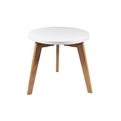 Stolik bergen mały - biały marki D2.design