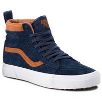 Sneakersy - sk8-hi mte vn0a33txucb (mte) suede/dress blues, Vans, 35-46