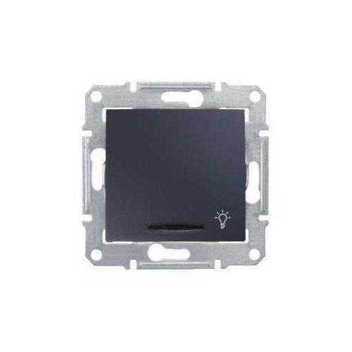 Przycisk zwierny Schneider Sedna SDN1600170 z podświetleniem grafit, SDN1600170