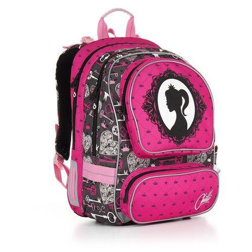 Plecak szkolny  chi 875 h - pink marki Topgal