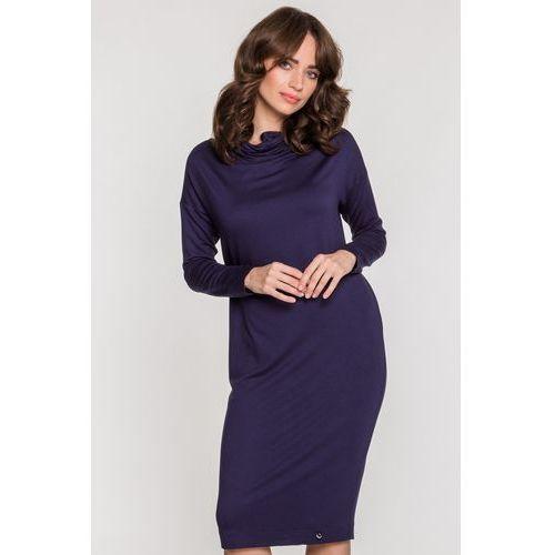 Prosta sukienka z długimi rękawami - Ennywear, 1 rozmiar