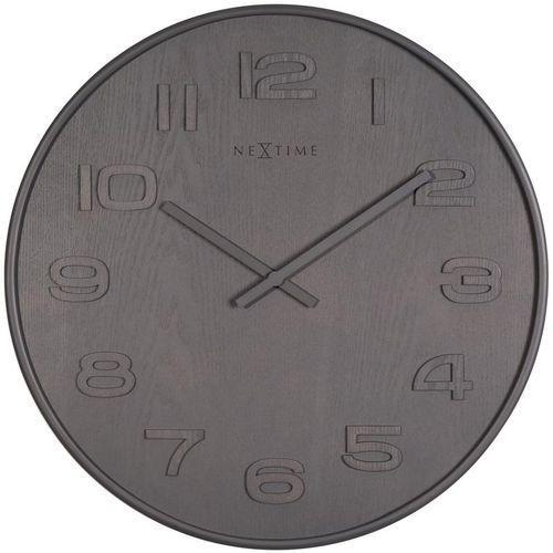 Zegar ścienny Wood Wood Big szary, 3095gs
