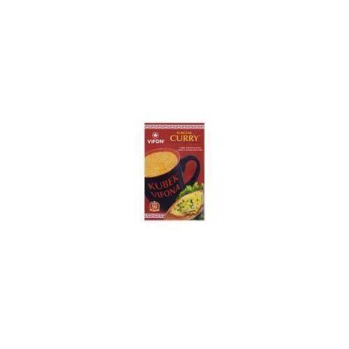 Zupa błyskawiczna o smaku kurczaka curry z kluskami ostra 25 g Vifon (5901882013490)