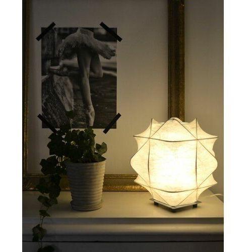 Eglo Biała lampa stołowa cocoon 1xe27 (9002759919276)