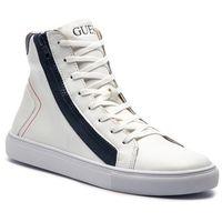 Guess Sneakersy - luiss hi fm5lhi lea12 whibl