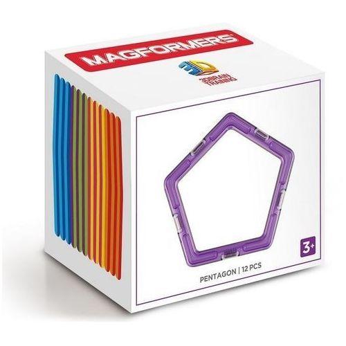 Magformers Klocki magnetyczne pięciokąty 12 elementów