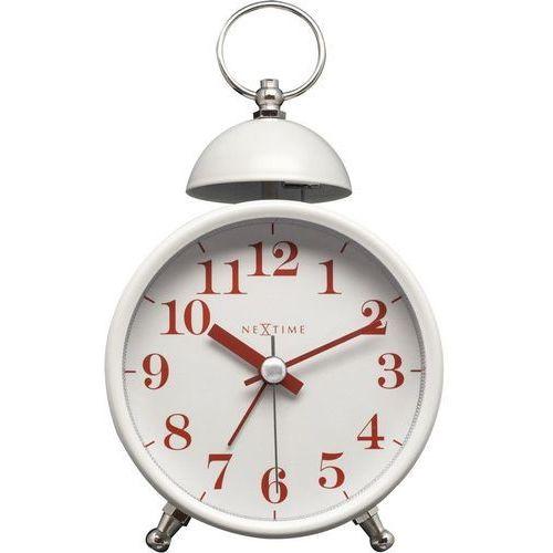 - zegar stojący single bell - biały marki Nextime