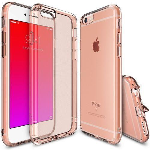 Etui Ringke Air Apple iPhone 6/6s Plus różowo-złoty Crystal, kolor wielokolorowy