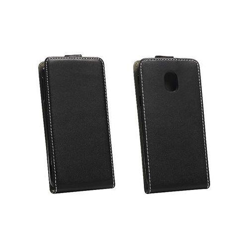 Samsung Galaxy J3 (2017) SM-J330 - etui na telefon Forcell Slim Flexi - czarny, ETSM542ELFXBLK000