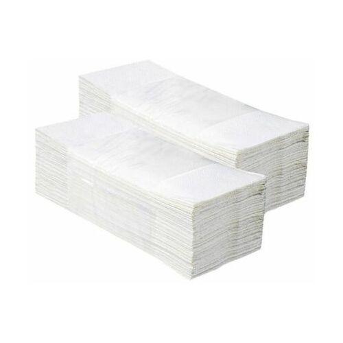 Merida Pojedyncze ręczniki papierowe optimum,białe, dwuwarstwowe, 3200 szt. (20 paczek po 160 szt.)