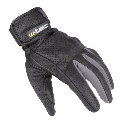 Rękawice skórzane motocyklowe W-TEC Nyarra NF-4150, Szary, XXL
