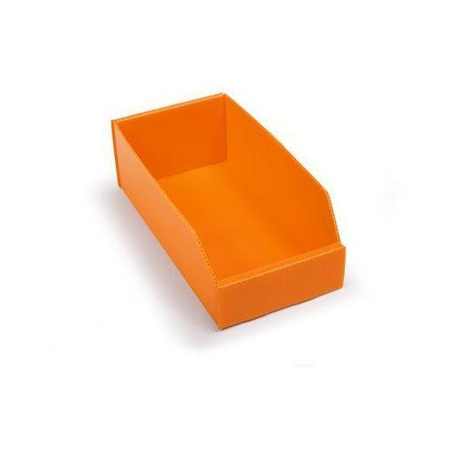 K bins limited Skrzynki regałowe z tworzywa, składane, dł. x szer. x wys. 300x150x100 mm, pomar