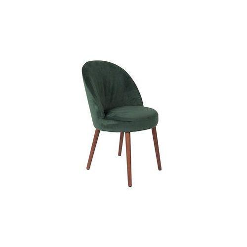 Dutchbone Krzesło Barbara zielone 1100336 (8718548038639)